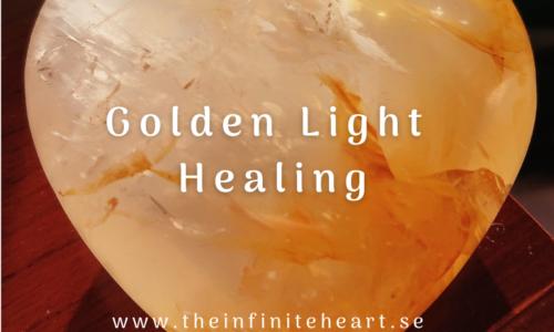 Golden light healing hemsidan